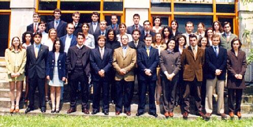 Promoci n 1997 1998 master en banca y mercados for Oficinas bbva valladolid